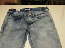 SO BLEACHED OUT STRETCH SKINNY JEANS JR SZ 17 -BLUE- NWT