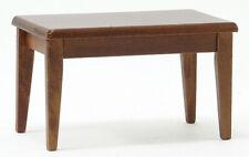Dollhouse Miniatures 1:12 Scale Kitchen Table, Walnut #CLA10048