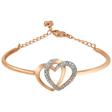 Swarovski Dear Bangle - Rose Gold-Tone