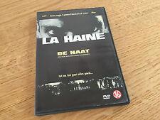 """AFFAIRE : dvd lLA HAINE  """" DE HAAT """"  de Matthie KASSOVITZ : RARE !!!"""
