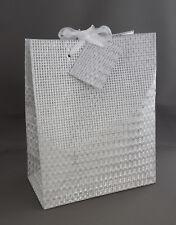 4/10/12 Geschenktueten Geschenktüten Geschenkbeutel Tüten 10x18x23cm Metallic