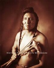 CROW INDIAN WARRIOR OTHER MEDICINE VINTAGE PHOTO NATIVE AMERICAN OLD WEST #21466