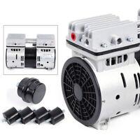 Oilless Micro Air Diaphragm Vacuum Pump Industrial Oil-Free Piston Vacuum Pump