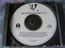 "U2 ""Until The End Of The World"" CD Promo Single In N/M-. Rare! 1991. PRCD 6704-2"