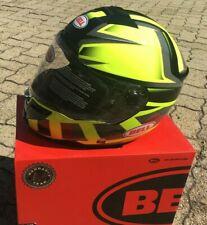 Casco Helm Casque Helmet Bell SRT Predator HI-Viz Green Black taglia L 7092346