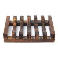 Wood Kitchen Bathroom Sponge Soap Dish Plate Box Holder Container Shelf,Siz U6Q7