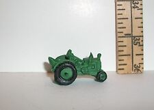 MINIATURE RESIN 1/6 SCALE FASHION DOLL SIZE TOY GREEN TRACTOR NO MOVING PARTS