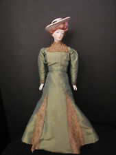 """BEAUTIFUL EMMA CLEAR GIBSON GIRL 16"""" TALL MARKED"""