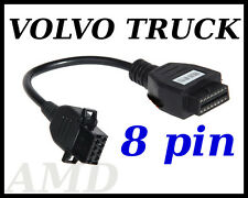 VOLVO TRUCK diagnostic cable 8 PIN connector  AUTOCOM, DELPHI, WURTH, ECLIPSE