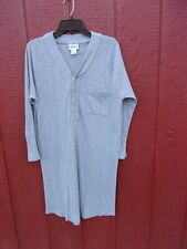 The Vermont Country Store men's stretchy nightshirt gray size Medium NWOT