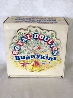 Vintage Royal Doulton 3 Piece BunnyKins Set in Box Cup Saucer Dish English China