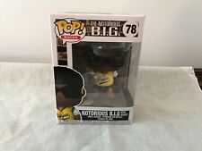 Funko Pop The Notorious B.I.G. With Jersey #78 New