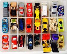 COLLECTION of 1990's CARS & TRUCKS x49 w/ CARRY CASE ~ MATCHBOX, MATTEL, TONKA