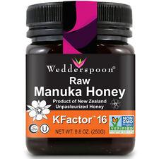 WEDDERSPOON - 100% Raw Premium Manuka Honey KFactor 16 - 8.8 oz. (250 g)
