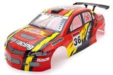 . Racing Mitsubishi Lancer Evo Body Shell De 190 Mm Rojo