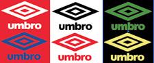 Umbro 70s 80s Felt Football Shirt Soccer Numbers Heat Print Football Vintage