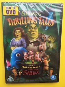 Shrek's Thrilling Tales (2012) DVD Brand New & Sealed FAST DISPATCH UK