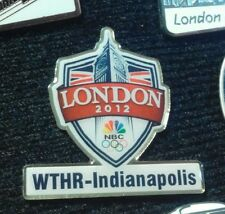 2012 LONDON OLYMPIC MEDIA NBC WTHR PIN