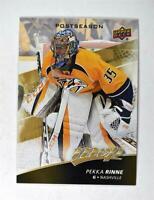 2017-18 Upper Deck MVP NHL Postseason #PS8 Pekka Rinne