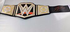 Sheamus SIGNED BELT Autograph JSA COA WWE RAW WWF Toy Kids