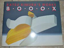 KATSU KIMURA 'S WORKS - B.O.O.O. X BOX - IN ITALIANO,INGLESE,TEDESCO,SPAGNOLO CO