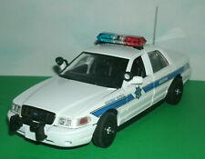 1/24 Scale 2007 Ford Crown Vic Diecast Arizona Highway Patrol Police Car Model