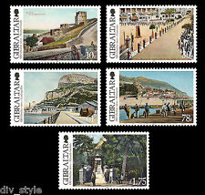 Scenic Views of Old Gibraltar 2012 set of 5 mnh stamps  #1341-5