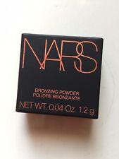 Authentic NARS Bronzer Powder LAGUNA Mini 0.04oz 1.2g New in Box