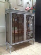 More than 200cm High Mahogany Living Room Display Cabinets