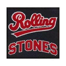 The Rolling Stones Aufnäher Patch Sew-on Patch Team Logo