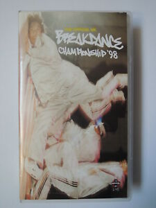 The Official Breakdance Campionchip '98 VHS * 1998 Manga-Live Tape in England