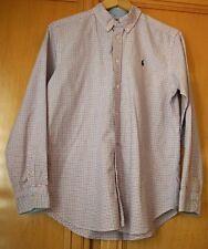 Ralph Lauren Boy's Long Sleeve Shirt - Size XL (18-20)  Cotton