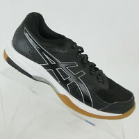 Asics Gel-Rocket Black Athletic Volleyball Shoes B756Y Women's Size 7.5