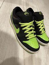 New listing Nike SB Dunk Low Neon Green J-Pack Glow 304292-019 Chartreuse/Black QS US Rare