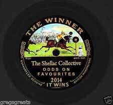 "NEW !! SHELLAC COLLECTIVE 2014 ""ODDS ON FAVOURITE""  29 GREAT 78rpm RECORDS ON CD"