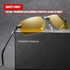 Tac HD+ Polarized Day Night Vision glasses Men Driving Pilot Aviator sunglasses