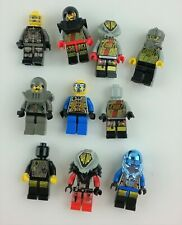 Lego Minifigure Space Lot of 10 includes UFO Red Alien Androids Aliens