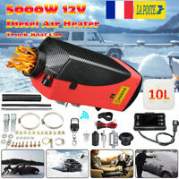 5KW 12V Chauffage Diesel Air Kit LCD Thermostat silencieux pour bateau voiture