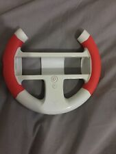 Nintendo Wii Steering Wheel Vibrating Color Red