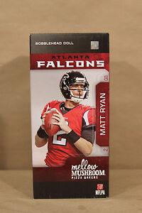 """Matt Ryan NFL Atlanta Falcons Mellow Mushroom 8"""" Bobblehead (115308-24)"""