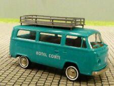 """° Welly 73112 VW t2 bus /""""vigili del fuoco/"""" Rosso modello di auto scala 1:87 NUOVO"""