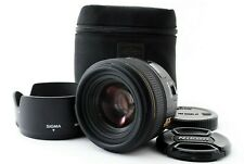 Sigma DC 30mm f/1.4 HSM EX Lens For Canon W/Hood/Case