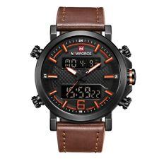 Watch Sports Naviforce 9125 Dual Analog Digital Quartz Date LED Fashion