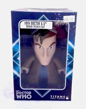 """Titans Officially Licensed Doctor Who 6.5"""" Vinyl Figure Brown Trench Coat Ver"""