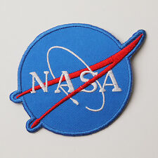 NASA US Space Agency Logo NEW Quality Iron-On Embroidered Patch - FREE POSTAGE