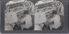 1910s KEYSTONE STEREOVIEW COPYING DESIGNS ON COPPER FOR PRINTING COTTON CLOTH