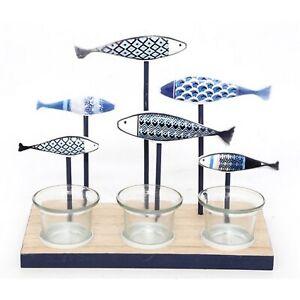 Decorative Fish Multi Tealight Holder