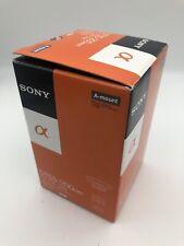 SONY DT55-200mm f/4-5.6 Alpha A-Mount Telephoto Zoom Lens NIB New [288]