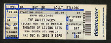 2002 The Wallflowers Unused Full Concert Ticket Philadelphia Jakob Dylan