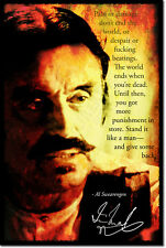 IAN MCSHANE ART PHOTO PRINT POSTER AL SWEARENGEN DEADWOOD QUOTE